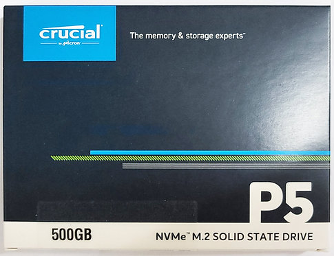 Crucial P5 PCIe M.2 2280SS SSD (CT-P5SSD8)