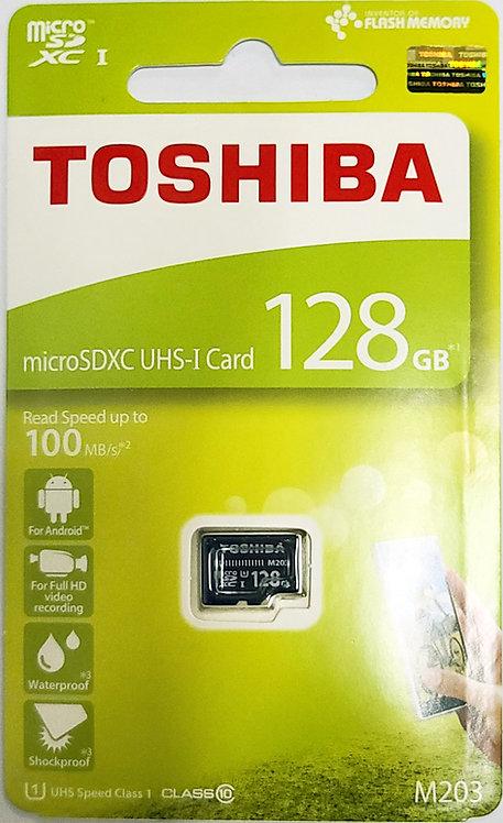 Toshiba EXCERIA M203 Micro SD Card (THN-M203K-A4)