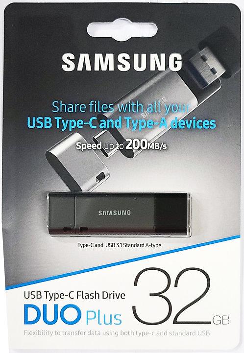 Samsung Duo Plus Type-C USB 3.1 Flash Drive (MUF-DB)