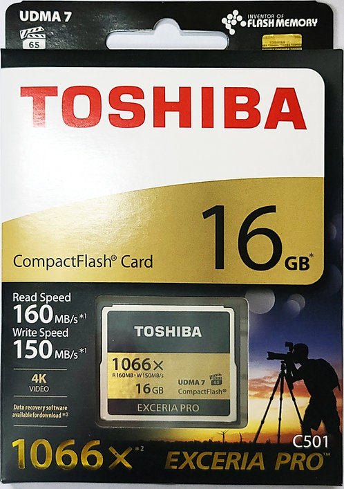 Toshiba EXCERIA PRO C501 CompactFlash Memory Card (THN-C501G-A6)