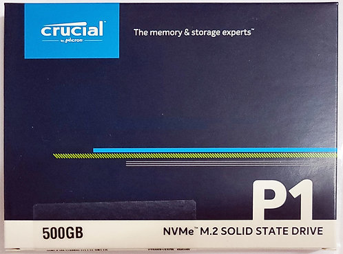 Crucial P1 3D NAND NVMe PCIe M.2 SSD (CT-P1SSD8)