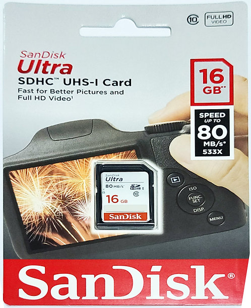SanDisk Ultra SD Card (SDSDUNC)