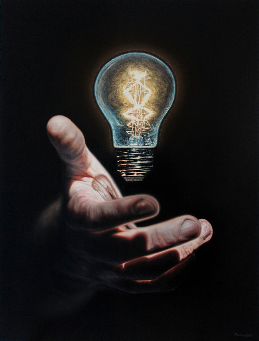 Vagrant Idea, huile sur toile 97 x 130