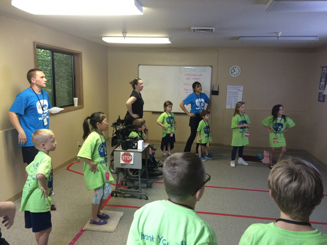 Day 9- Yellow, Blue and Red Teams (Ages 4-11)