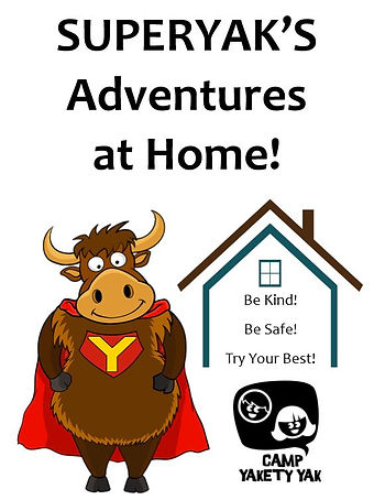 SuperYak's Adventures at Home journal ti