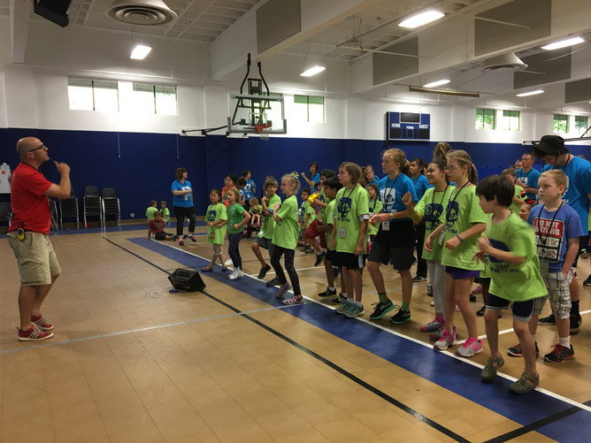 Day 8- Yellow, Blue and Red Teams (Ages 4-11)