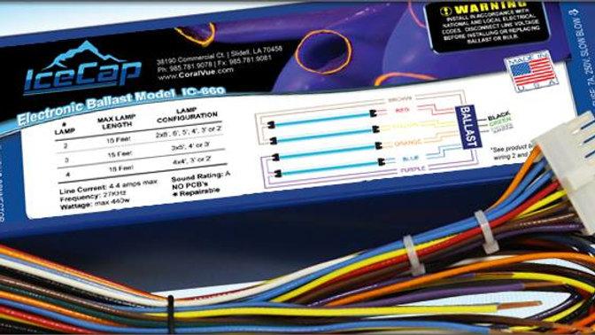 Icecap 660 T5 / VHO Electronic Ballast 120vac 60hz