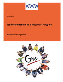 Fundraising Non-Profits Major Gifts
