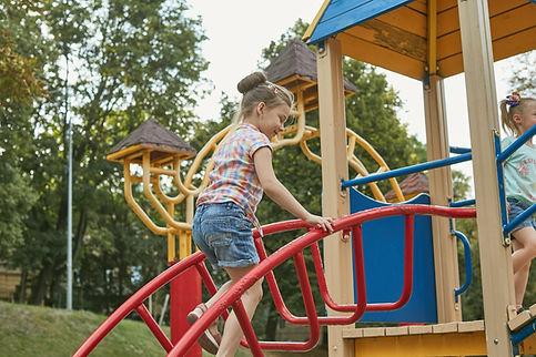 Girl at Playground