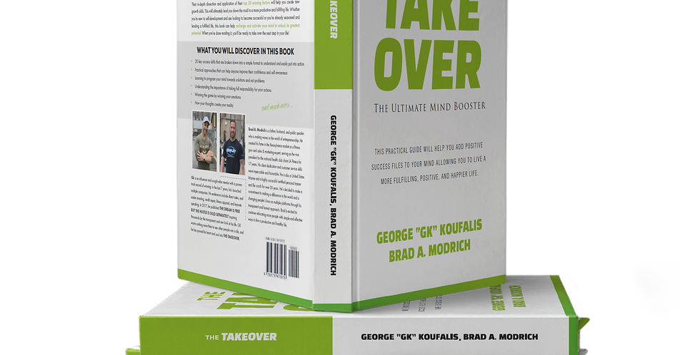 The Takeover - The Ultimate Mind Booster : 5 pack