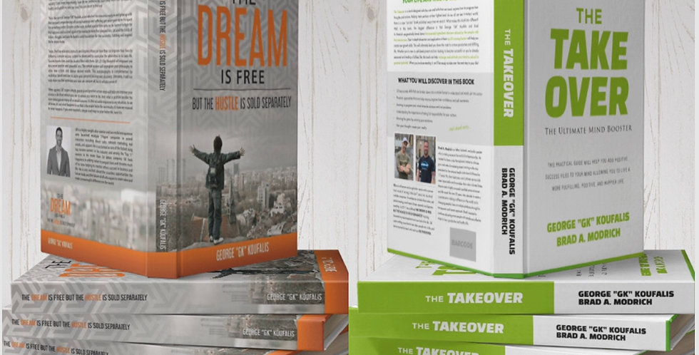 The Takover & The Dream is Free Combo Set