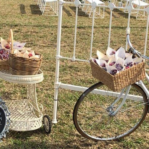 Vintage Confetti Bike