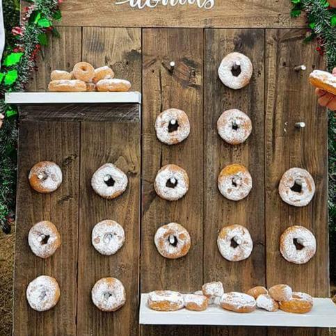 medium donut wall