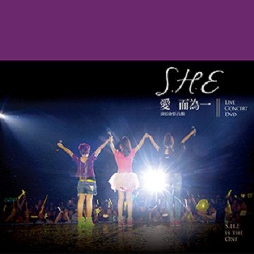 S.H.E 愛而為一演唱會 影音館 BD版