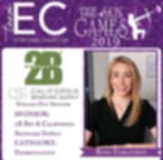 2019 Esthetician Connection Skin Games Contestant