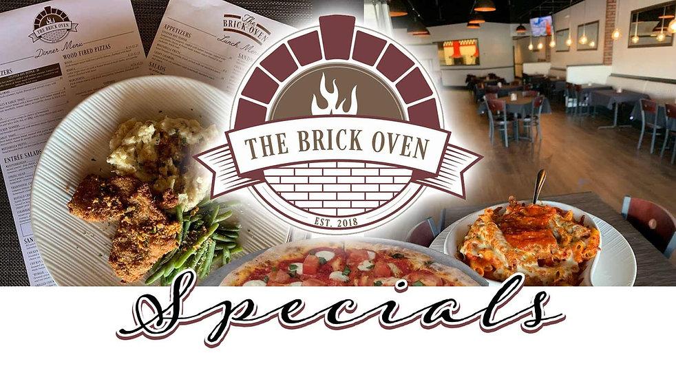 The Brick Oven specials