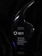 APS Diverse Supplier Excellence Award