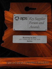 APS 2017 Supplier of the Year