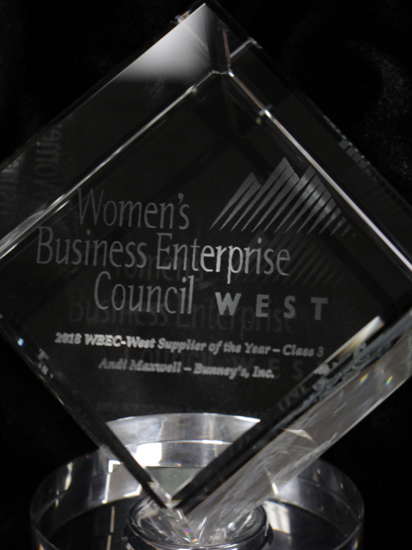 WBEC Supplier of the Year