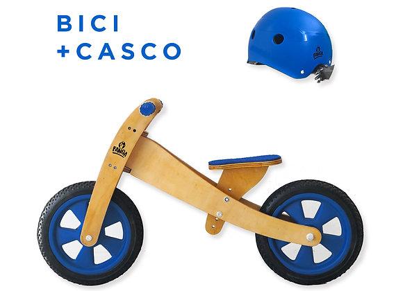 Combo Camicleta Azul + Casco