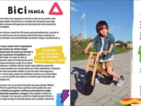 Bici FANGA y sus beneficios, bajo la mirada de Malena Bonati, terapista ocupacional.