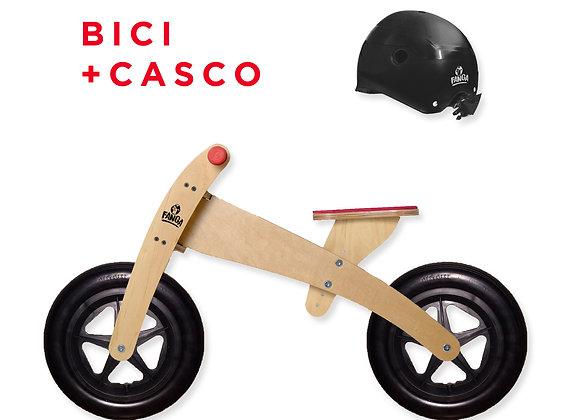 Combo Camicleta Pro Roja + Casco