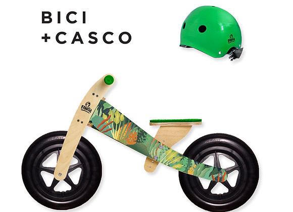 Combo Camicleta Pro Tropical + Casco