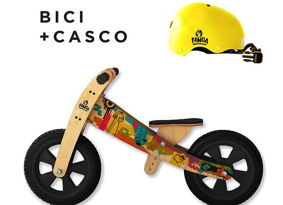 Combo Camicleta Barrio + Casco