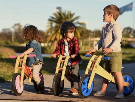 Bicis de madera para niños