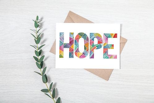 'HOPE' CARD