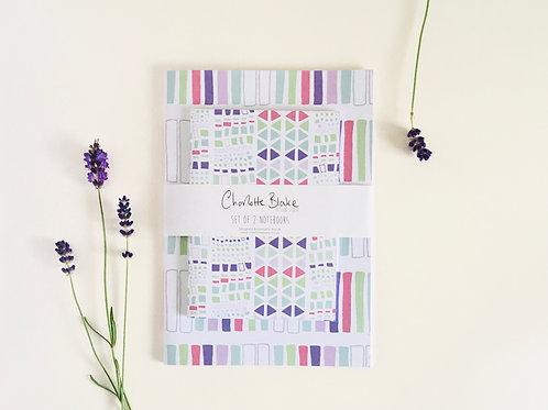 Spring Notebooks (set of 2)