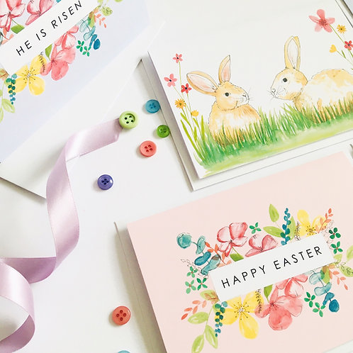 Faith Easter Cards (pack of 8)