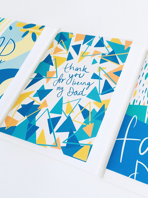 'Thank you for being my Dad' Card