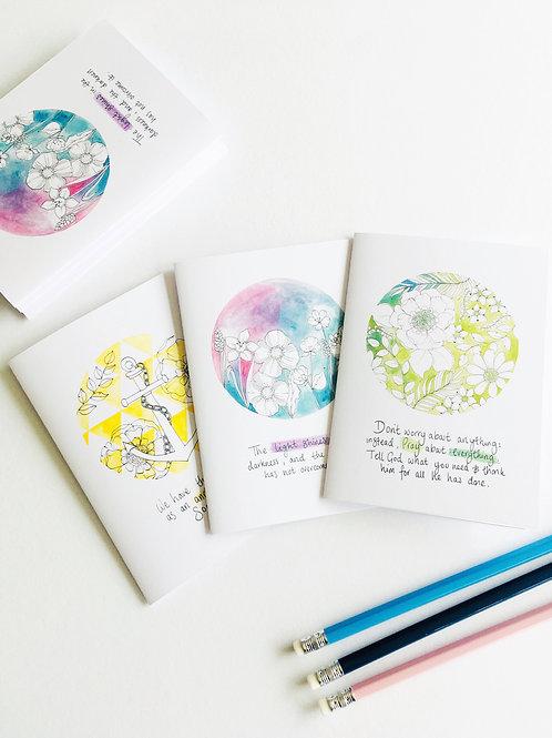 Positive Faith Set of Notecards