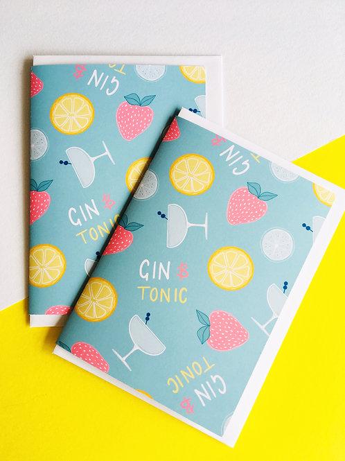 GIN & TONIC card
