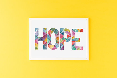 'HOPE' Print