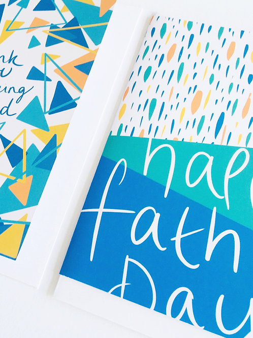 'Happy Fathers Day' Card