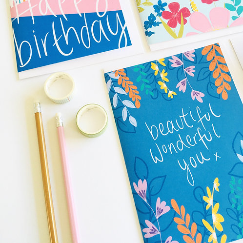 'Beautiful Wonderful You' Card