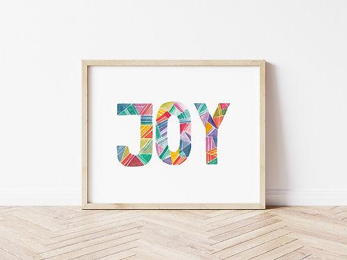 'JOY' Print