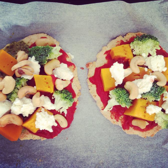 Cauliflower Crust Pizza Base Recipe