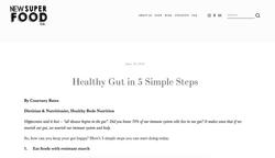 Healthy Gut in 5 Simple Steps