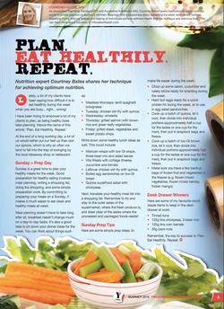 YMCA Healthy Living Magazine Summer