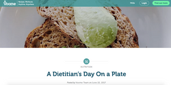 A Dietitian's Day On a Plate