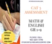 CAT 3 ASSESSMENT MATH, ENGLISH GR 1-9.pn