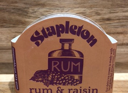 Ice Cream - Rum & Raisin