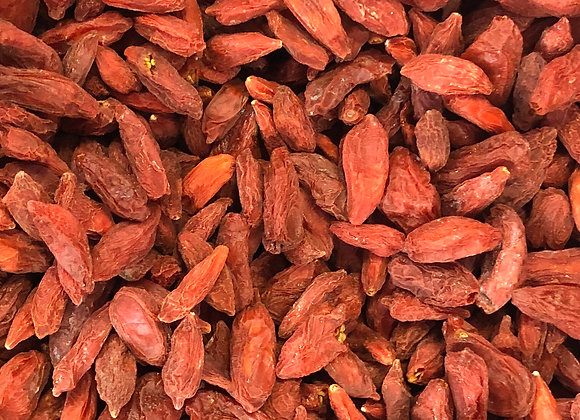 Plastic free organic dried goji berries