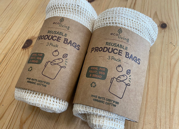 Produce Bags 3 pack