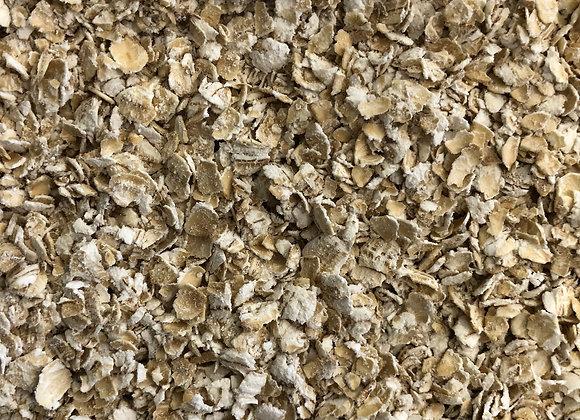 Plastic free organic porridge oats gluten free