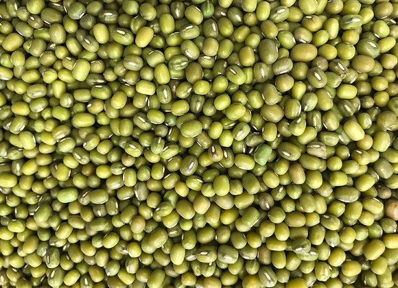 Plastic free organic mung beans