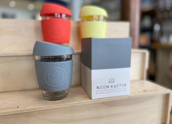 Neon Kactus Glass Travel Cup